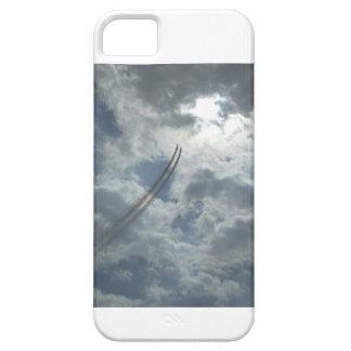 Una exhibición acrobática aérea atrevida funda para iPhone 5 barely there