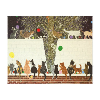 Una exhibición mágica 2012 impresión en lienzo
