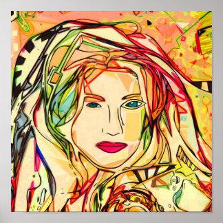 una expresión colorida 2009 poster