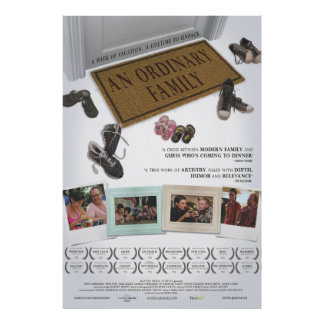 Una familia ordinaria - poster oficial de la pelíc