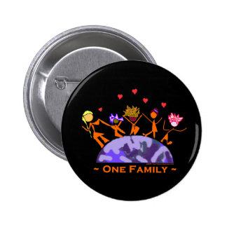 Una familia - tierra pin