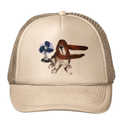 Una fan del gorra de los beagles