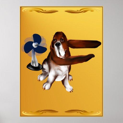 Una fan del poster de los beagles