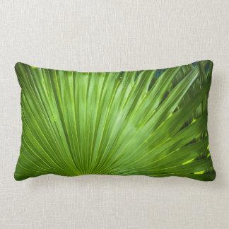 Una fan del verde cojín