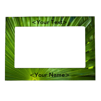 Una fan del verde foto de imanes