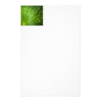 Una fan del verde papelería de diseño