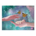 Una fantasía disponible del bebé lindo postales