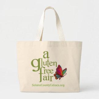 Una feria libre del gluten - tote bolsa tela grande