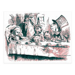 Una fiesta del té enojada postal
