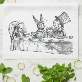 Una fiesta del té enojada toallas de mano