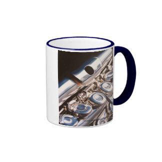 Una flauta de tres pedazos taza