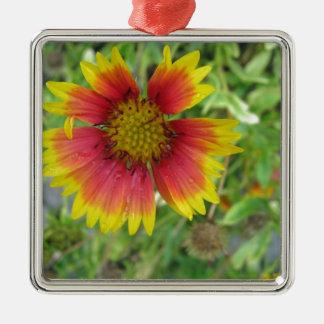 Una flor combinada hermosa adorno