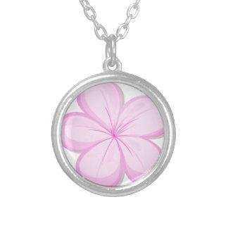 Una flor del rosa del cinco-pétalo grimpola personalizada