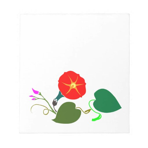 UNA flor dulce: Añada su SALUDO/encomio Bloc