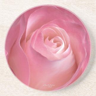 Una flor para mi práctico de costa del amor posavaso para bebida