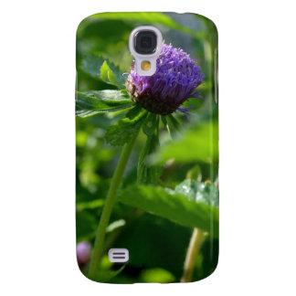 Una flor púrpura del jardín