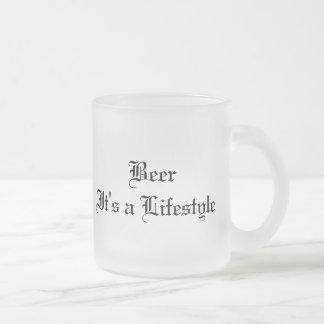 Una forma de vida de BeerIt, una forma de vida de Taza De Cristal