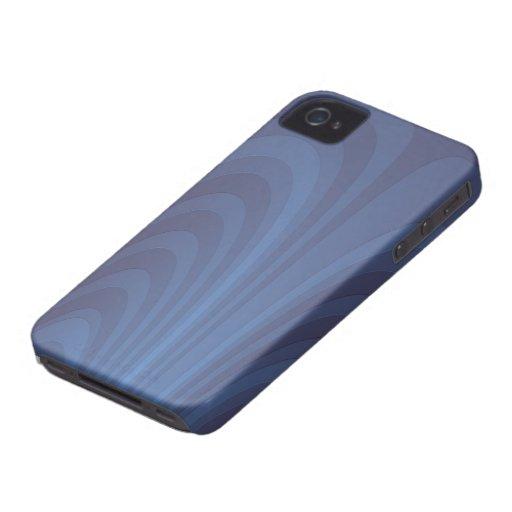 Una fuente del azul iPhone 4 carcasa