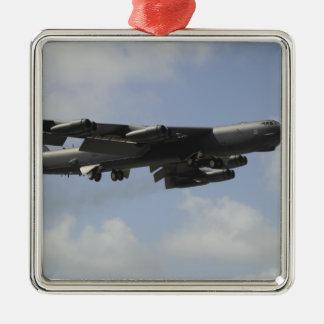 Una fuerza aérea de los E.E.U.U.B-52 Adorno Navideño Cuadrado De Metal