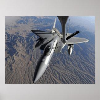 Una fuerza aérea de los E.E.U.U.F-15 Eagle Impresiones
