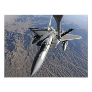 Una fuerza aérea de los E.E.U.U.F-15 Eagle Arte Fotográfico