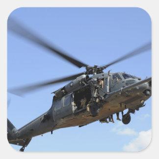 Una fuerza aérea de los E.E.U.U. HH-60 Pavehawk Pegatina Cuadrada