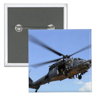 Una fuerza aérea de los E.E.U.U. HH-60 Pavehawk Chapa Cuadrada 5 Cm