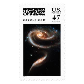 UNA GALAXIA LEJOS LEJOS (espacio exterior) ~.jpg Timbres Postales