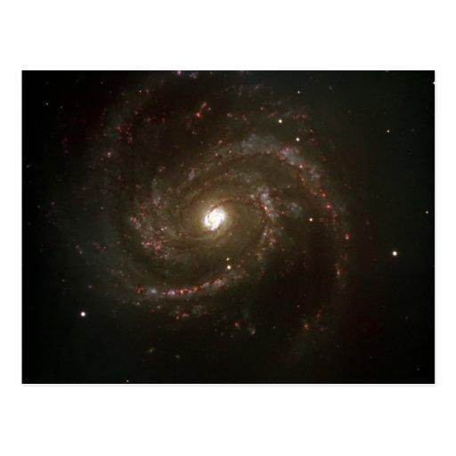 Una galaxia más sucia 100 de NASAs Postales