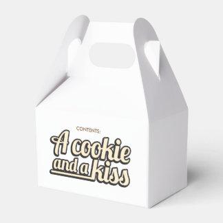 Una galleta y un beso. Caja de Gifting Cajas Para Regalos