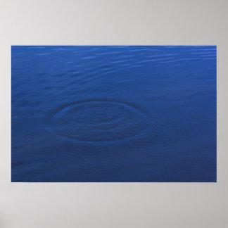 Una gota en el océano póster