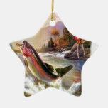 Una gran captura ornamento de navidad