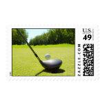 Una gran tarjeta del golf a gozar franqueo