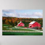 Una granja en Vermont cerca de Peacham. LANZAMIENT Poster