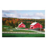 Una granja en Vermont cerca de Peacham. LANZAMIENT Impresiones Fotograficas
