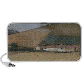 Una granja entre las colinas, Giverny, c.1887 Altavoces De Viajar