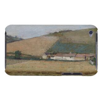 Una granja entre las colinas, Giverny, c.1887 iPod Touch Case-Mate Cárcasa