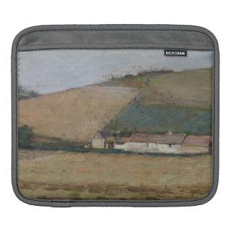 Una granja entre las colinas, Giverny, c.1887 Mangas De iPad