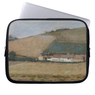 Una granja entre las colinas, Giverny, c.1887 Mangas Computadora
