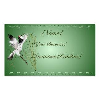 Una grúa en el profilecard_business_horizo de bamb tarjetas de visita