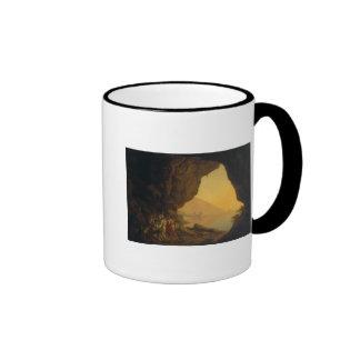 Una gruta en el Reino de Nápoles Tazas De Café