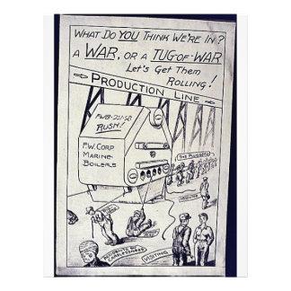 """Una guerra o un esfuerzo supremo folleto 8.5"""" x 11"""""""