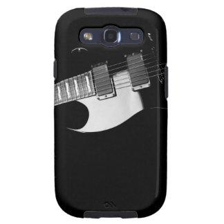 Una guitarra negra samsung galaxy s3 cárcasas