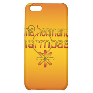 Una Hermana Hermosa Spain Flag Colors Pop Art Cover For iPhone 5C