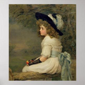 Una hija de Eve, peras publicación anual, navidad, Póster