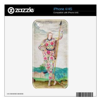 Una hija joven del Picts, c.1585 (w/c y gou Calcomanías Para El iPhone 4S