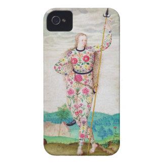 Una hija joven del Picts, c.1585 (w/c y gou iPhone 4 Protectores