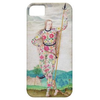 Una hija joven del Picts, c.1585 (w/c y gou iPhone 5 Carcasa