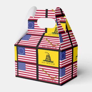 Una historia de las banderas de Estados Unidos Cajas Para Detalles De Boda