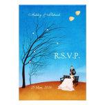 Una historia RSVP de la caída (en amor) Invitaciones Personales